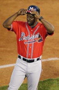 Mississippi Braves skipper Aaron Holbert